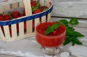 Recette Soupe de fraises