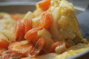 Recette Frittata aux carottes et navets
