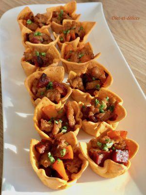 Recette Apéro chili au veau et chorizo