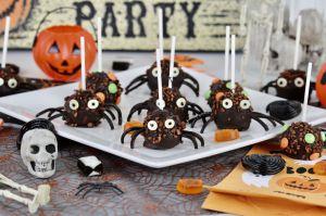Recette Cake pops d'Halloween au chocolat