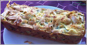 Recette Cake courgettes et mozzarella
