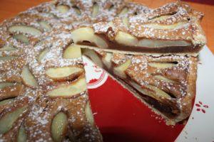 Recette Tarte choco poires