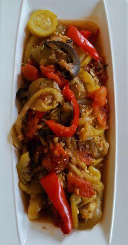 Recette Ratatouille (cuisson au Cookéo)