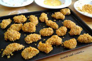 Recette Nuggets de poulet épicés