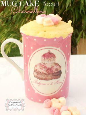 Recette Mug Cake Yaourt & Chamallow