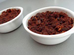 Recette Crumble au chocolat, noisette et pommes