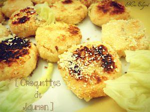 Recette Croquettes de Saumon