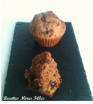Recette Nutella ® : Muffins au Nutella et pépites de chocolat