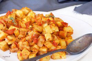 Recette Panais au four à la tomate VEGAN