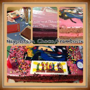 Recette Napolitain Choco/Framboise