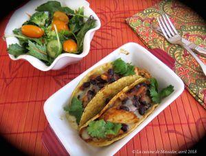 Recette Tacos minute au poulet, façon chili +