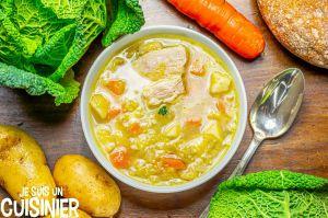 Recette Soupe au chou (un classique de la cuisine traditionnelle française)