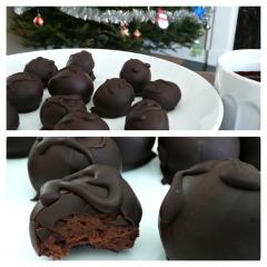Recette Truffes double chocolat (vegan)