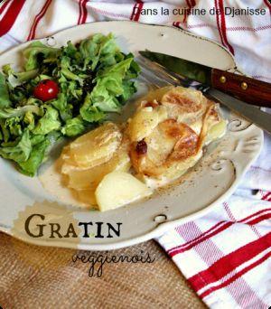 Recette Gratin veggienois (dauphinois vegan) – Vegan