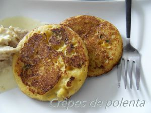 Recette Crêpes de polenta