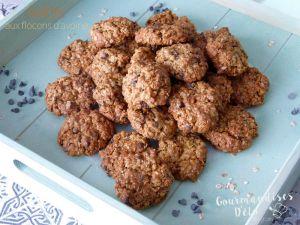Recette Cookies aux flocons d'avoine