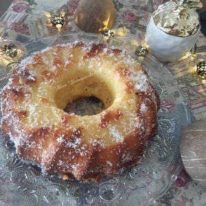 """Recette ღ """" Miam """" Gâteau à l'ananas et à la noix de coco"""