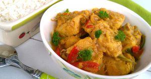 Recette Cabillaud au curry