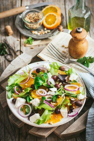 Recette Salade d'oranges à la feta