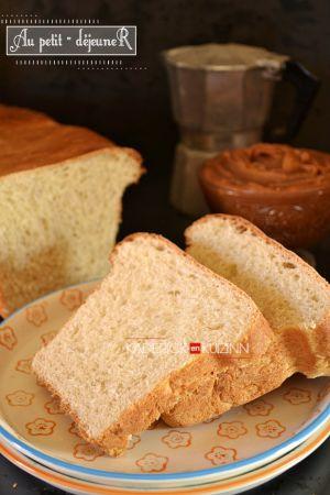 Recette Du pain de mie à la machine à pain ou à la main