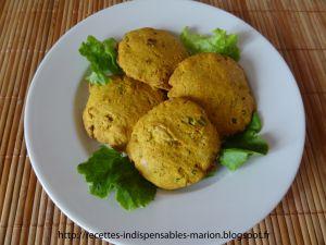 Recette Cookies au curry et au fromage frais