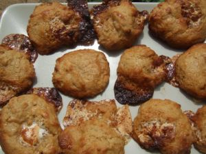 Recette Cookies chamallow et confiture de lait