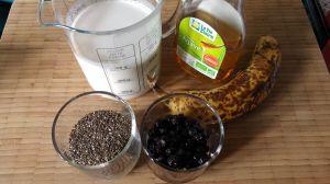 Recette Pudding de Chia, Myrtille-Banane – Banana and Blueberry Chia Pudding