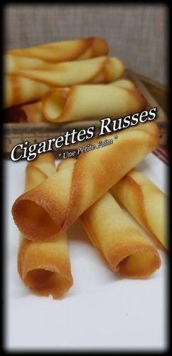 Recette Cigarettes Russes