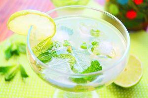 Recette Mojito sans alcool, cocktail menthe citron vert