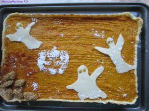 Recette Tarte d'Halloween