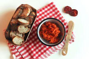 Recette Dip au chorizo et tomate séchée