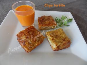 Recette Chips tortilla