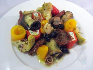 Recette Assiette de légumes marinés