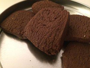 Recette Biscuits chocolat et fève tonka