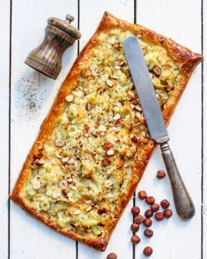 Recette Tarte au chou-fleur