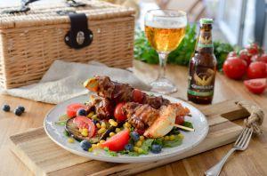 Recette Brochettes sauce barbecue aux myrtilles