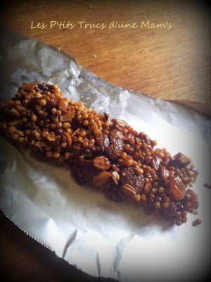 Recette Barres de céréales maison