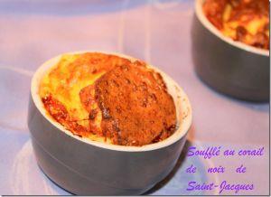 Recette Soufflé au corail de noix de Saint-Jacques