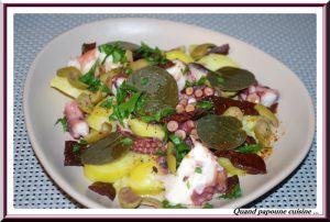 Recette Salade de poulpe