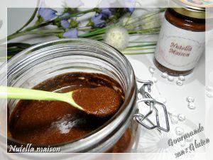 Recette Pâte à tartiner nutella maison