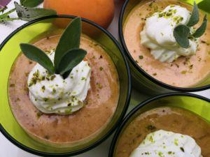 Recette Mousse d'Abricot à la sauge en 2 façons