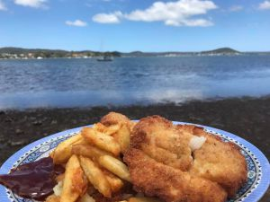 Recette En australie : fish and chips
