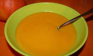 Recette Soupe citrouille- vache qui rit
