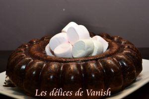 Recette Cake au chocolat et chamallows