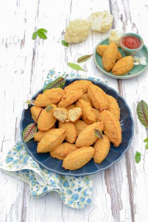 Recette Croquettes de chou-fleur { Recette express en 4 ingrédients }