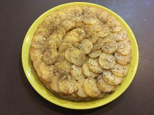 Recette Gâteau de pommes de terre léger