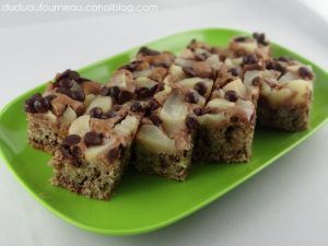 Recette Tarte rustique poire chocolat