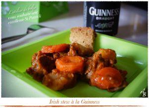 Recette Irish stew, ragoût de boeuf irlandais à la Guinness