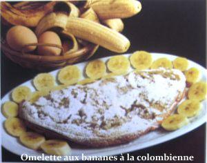 Recette Omelette aux bananes à la colombienne