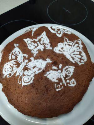 Recette Gâteau chocolat praline